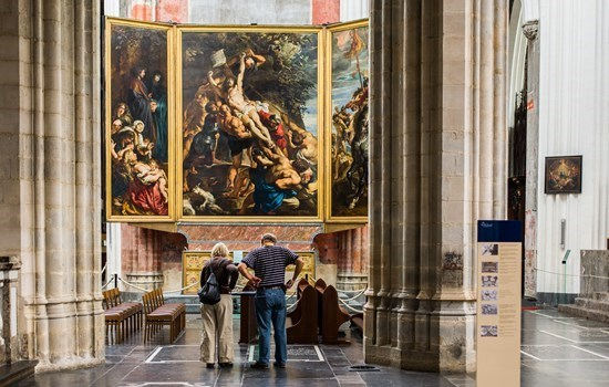 Paintings by Rubens in Our Lady's Cathedral, Antwerp