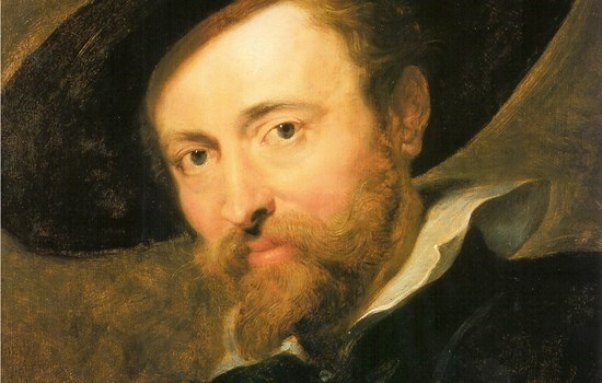 A portrait of the famous painter Rubens