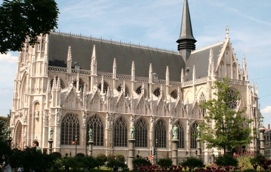 The Church of Our Blessed Lady of the Sablon in Brussels